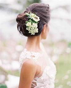 Flowered Hair Wedding Style