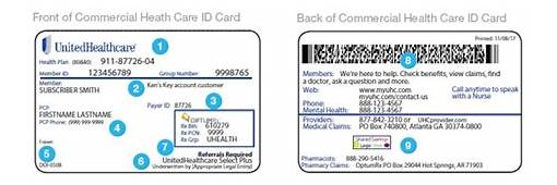 United Healthcare Insurance Cards