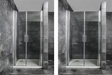 Duschabtrennung Nach Maß Kunststoff - nischendusche pendeltur wohndesign ideen