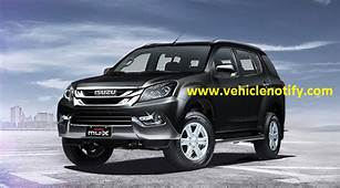 2018 Isuzu MU X Design Features And Performance