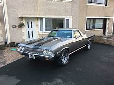 1968 chevrolet el camino american classic muscle car v8 chevy gmc ford pickup truck in