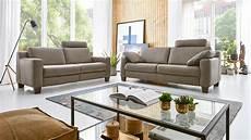 couch 3 sitzer 3 sitzer sofaconcept sofa couch echtleder braun hukla