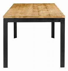 Table Repas 180 Cm En Bois Et Pieds Metal City Grenier Alpin