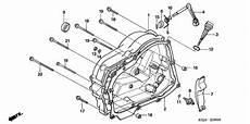 honda crf100f wiring diagram 2004 honda crf100f lever clutch adjusting right engine crankcase cover 22830 436 000
