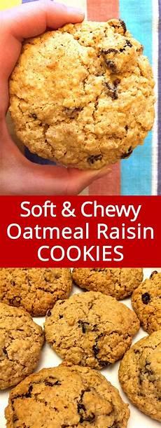easy soft chewy oatmeal raisin cookies recipe melanie cooks
