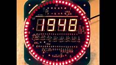 mini led uhr gorgy timing nachbau