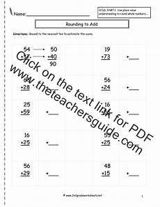 estimating worksheets for 3rd grade 8284 rounding whole numbers worksheets