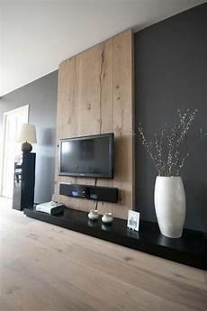 wohnzimmer ideen tv die besten 25 holzwand wohnzimmer ideen auf