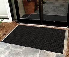 Black Rubber Door Mats Outside by Mission Outdoor Entrance Mat 60 Quot X 36 Quot Floormatshop