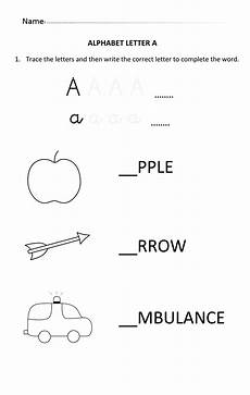 printable letter worksheets for 4 year olds 23820 learning and writing letter a for 5 and 6 year students writinglettera обучение
