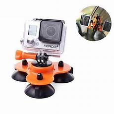 Orange Suction Mount Window Glass Sucker by Amazones Gadgets Removable Low Angle Car Suction Cup Mount
