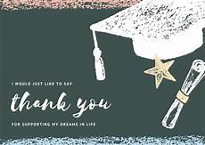 thank you cards template graduation customize 24 graduation thank you card templates