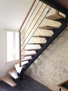 escalier metal et bois escalier m 233 tallique et bois escalier sur mesure 224 limon