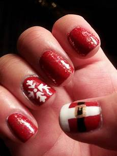 357 holly jolly christmas nail art designs you re gonna love