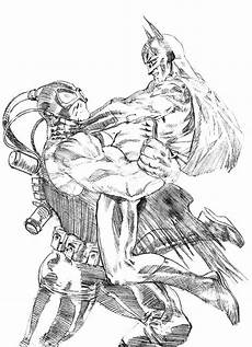 Bane Batman Coloring Pages Sketch Bane Batman Fighting Coloring Pages Best Place To