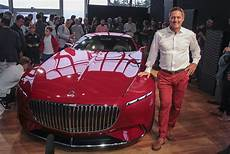 vision mercedes maybach 6 premiere in pebble