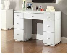 white glass mirrored dressing table mirror furniture