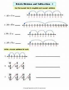 division as repeated subtraction worksheets 4th grade 6694 worksheet related division and subtraction 1 use number line or repeated subtraction