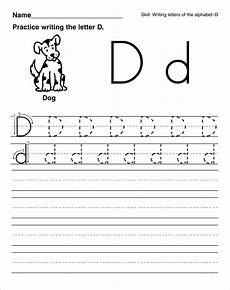 letter d worksheets for 1st grade 24211 trace letter d worksheets activity shelter