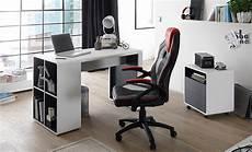 bureau moderne blanc bureau design blanc gris pour chambre enfant ado