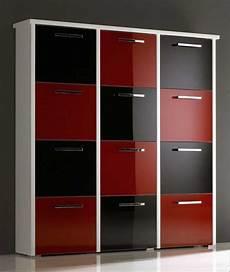 Schuhschrank Rot Hochglanz - schuhschrank design eine stilvolle und funktionale