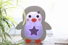 ebook bastelanleitung pinguin sterne laterne