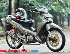 Modif Lu Led Supra X 125 by 2 Modifikasi Honda Supra X 125 Futuristik