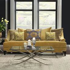 viscontti sofa gold by furniture of america 1 review s furniturepick