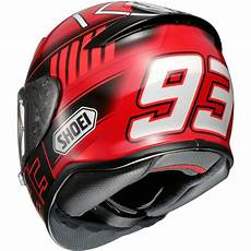 Shoei Nxr Marquez 3 Tc 1 Helmet 183 Motocard