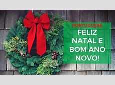 merry christmas portuguese translation