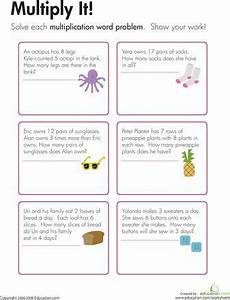 multiplication word problems multiply it math word