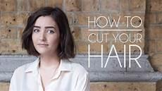How To Cut My Own Hair Style how to cut your own hair hair bob