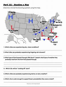 weather map worksheets 6th grade 14617 unit 2 weather climate mrs s website