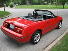 buy car manuals 1991 mercury capri head up display buy used 1991 mercury capri convertible 5 speed manual in quincy illinois united states for