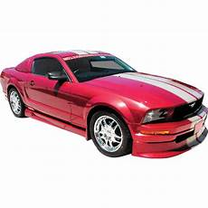 pieces ford mustang duraflex v6 racer kit 4 pc for mustang ford 05 09 ed