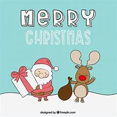 merry christmas picture cute cute merry christmas illustration vector free download