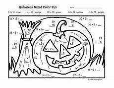 halloween addition subtraction color fun by joanne hall