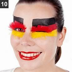deutschland make up vier tipps f 252 r originelle fanschminke