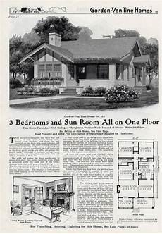 gordon van tine house plans gordon van tine 613 with images vintage house plans