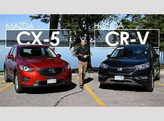 Mazda CX 5 vs. Honda CR V   Model Comparison   Driving