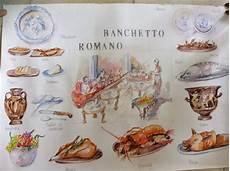 banchetto romano ribezzoblogger il banchetto romano