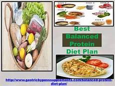 best balanced protein diet plan