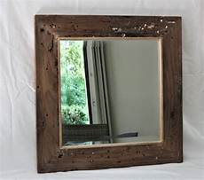 wandspiegel mit ablage landhaus wandspiegel aus bootsholz badspiegel spiegel altholz unikat