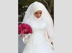 my wedding dress :) (bridal hijab)   Muslim, Bröllop och