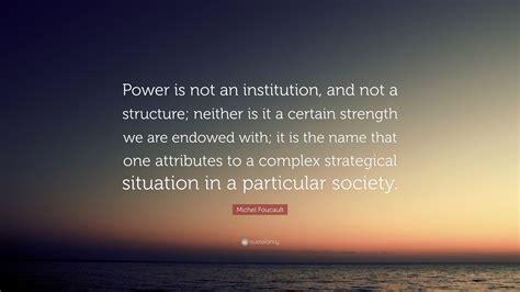 Foucault Power