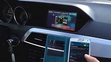mercedes comand android screen mirror