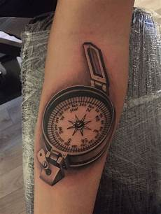 125 directional compass tattoo ideas with meanings wild