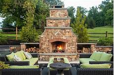 an outdoor fireplace fire pit which is best for my northern virginia backyard