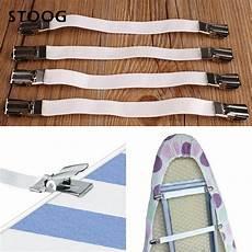 bed sheet hooks new multipurpose 4pcs metal bed sheet fasteners elastic holder clip grippers in hooks rails