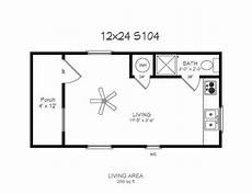 12x24 tiny house plans 12x24 1st floor w loft cabin good bare bones layout